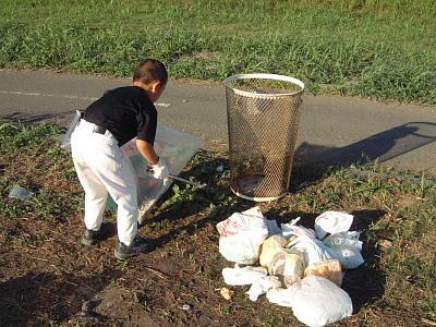 ゴミ箱のゴミ