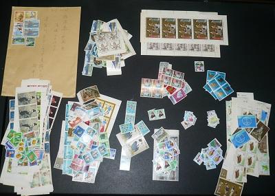 今回送っていただいた切手