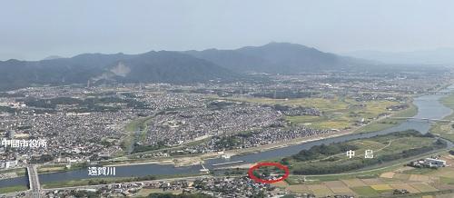 中島の風景