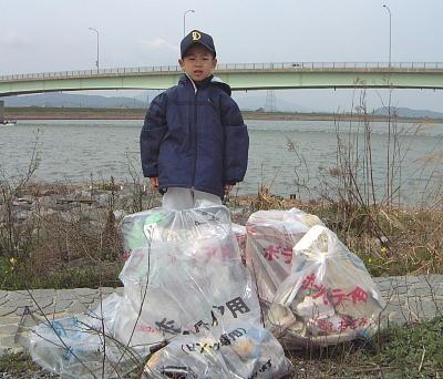 回収したゴミ達